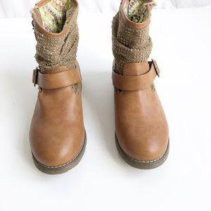Coolway tan booties